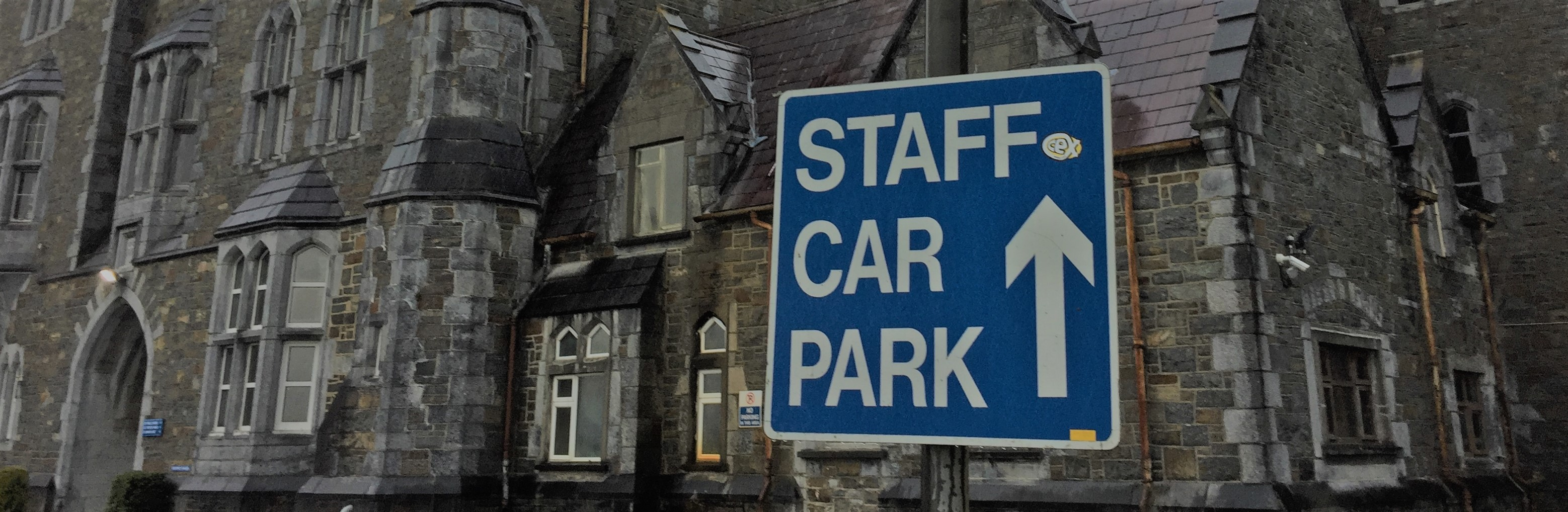1-Staff Sign Post at St Finan's Hospital Killarney