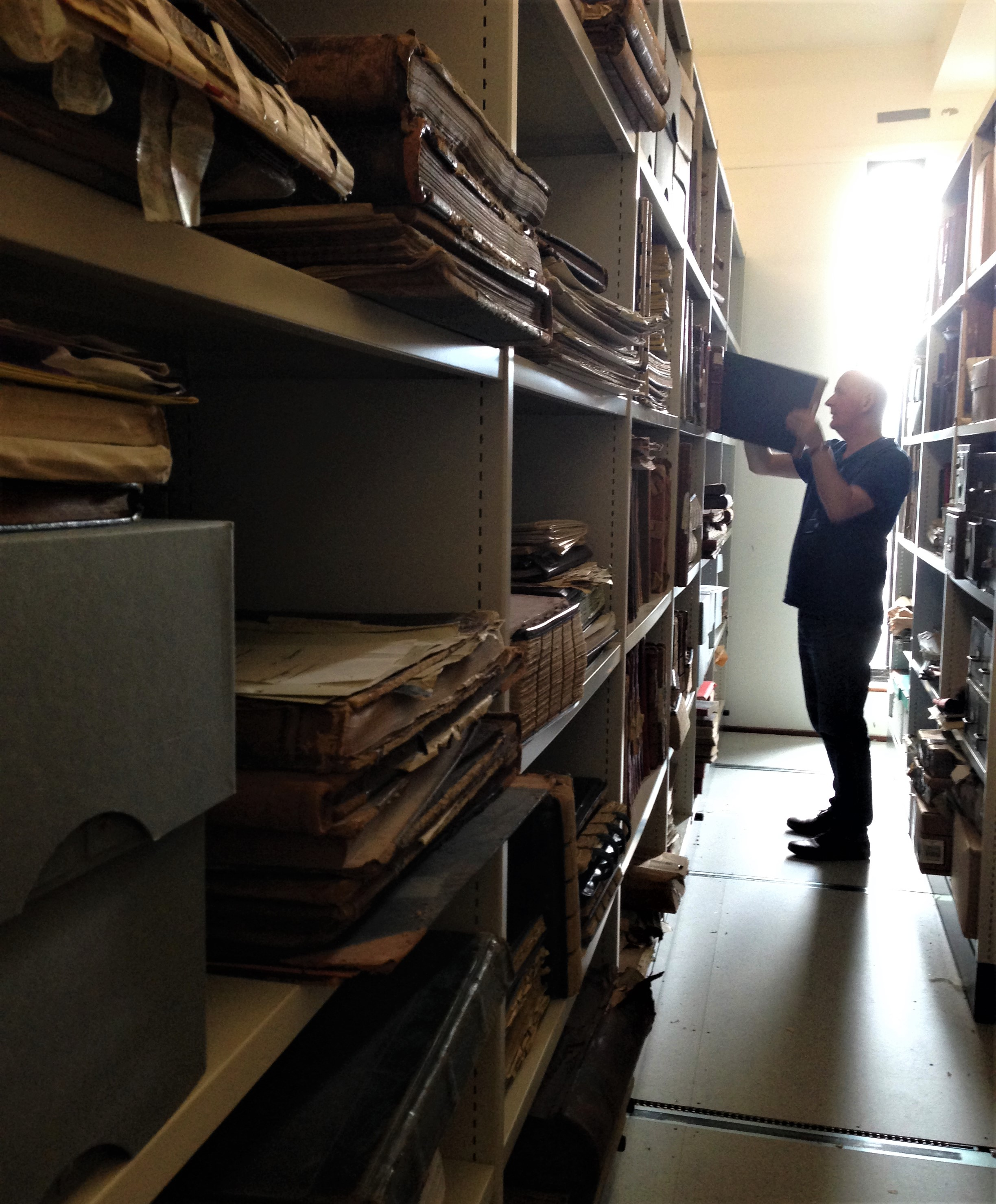 1-Mike Lynch Archivist Kerry County Library