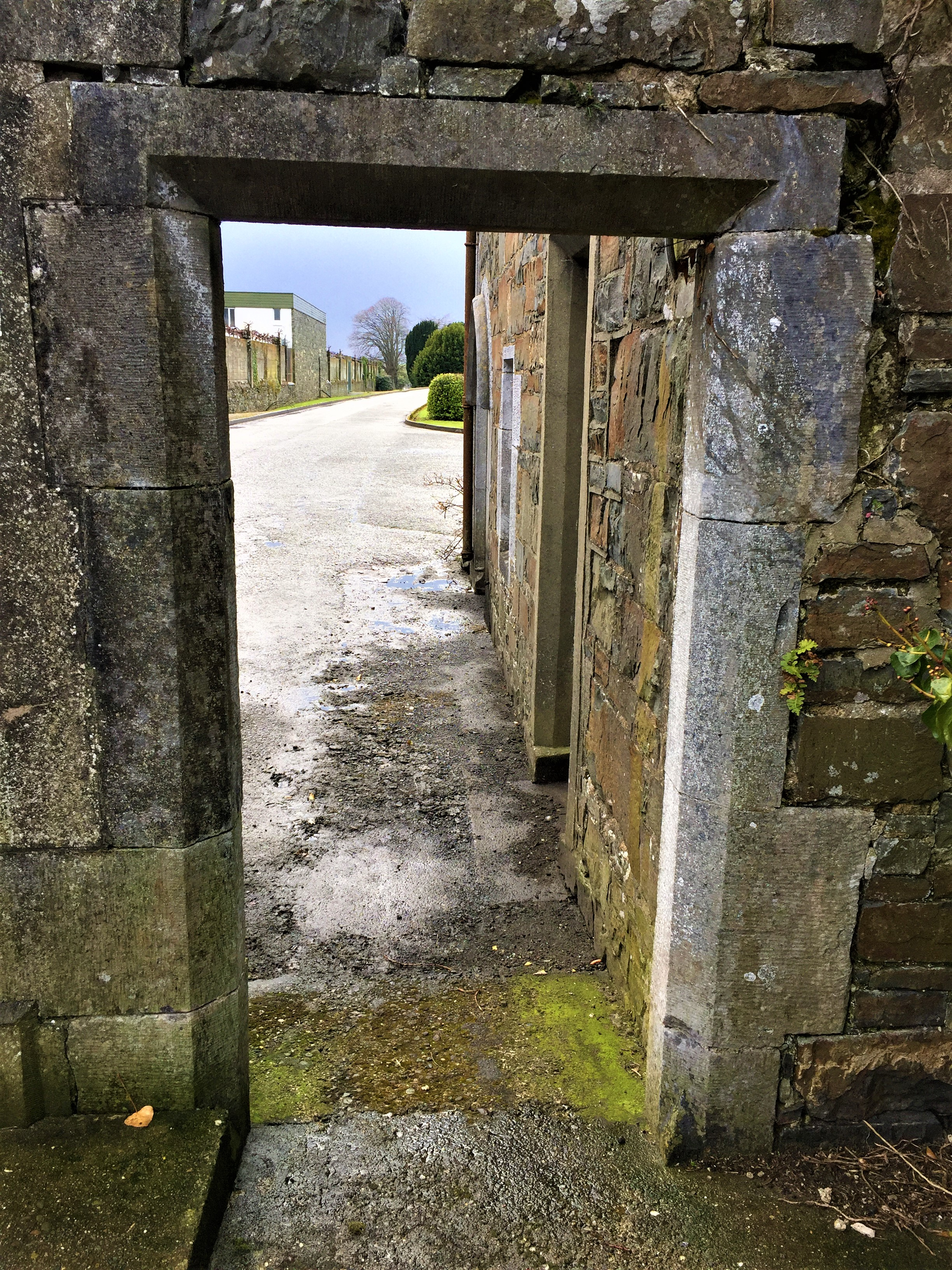 1-Entry at Gate house East facing of St Finan's Hospital Killarney