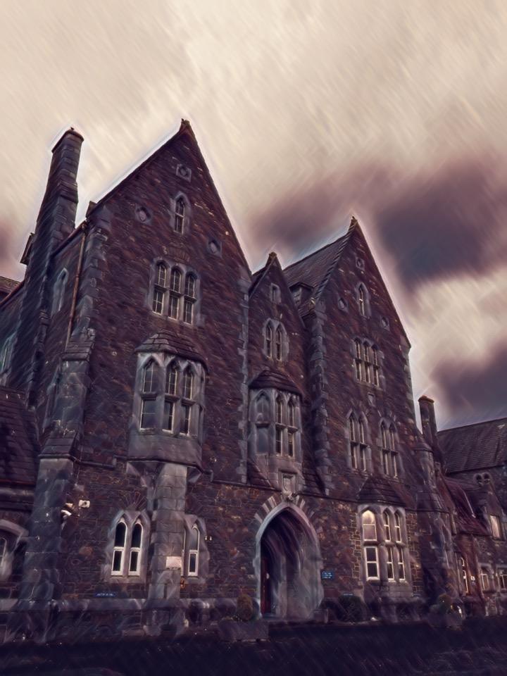 1-Main Entry to St Finans's Hosptial Killarney