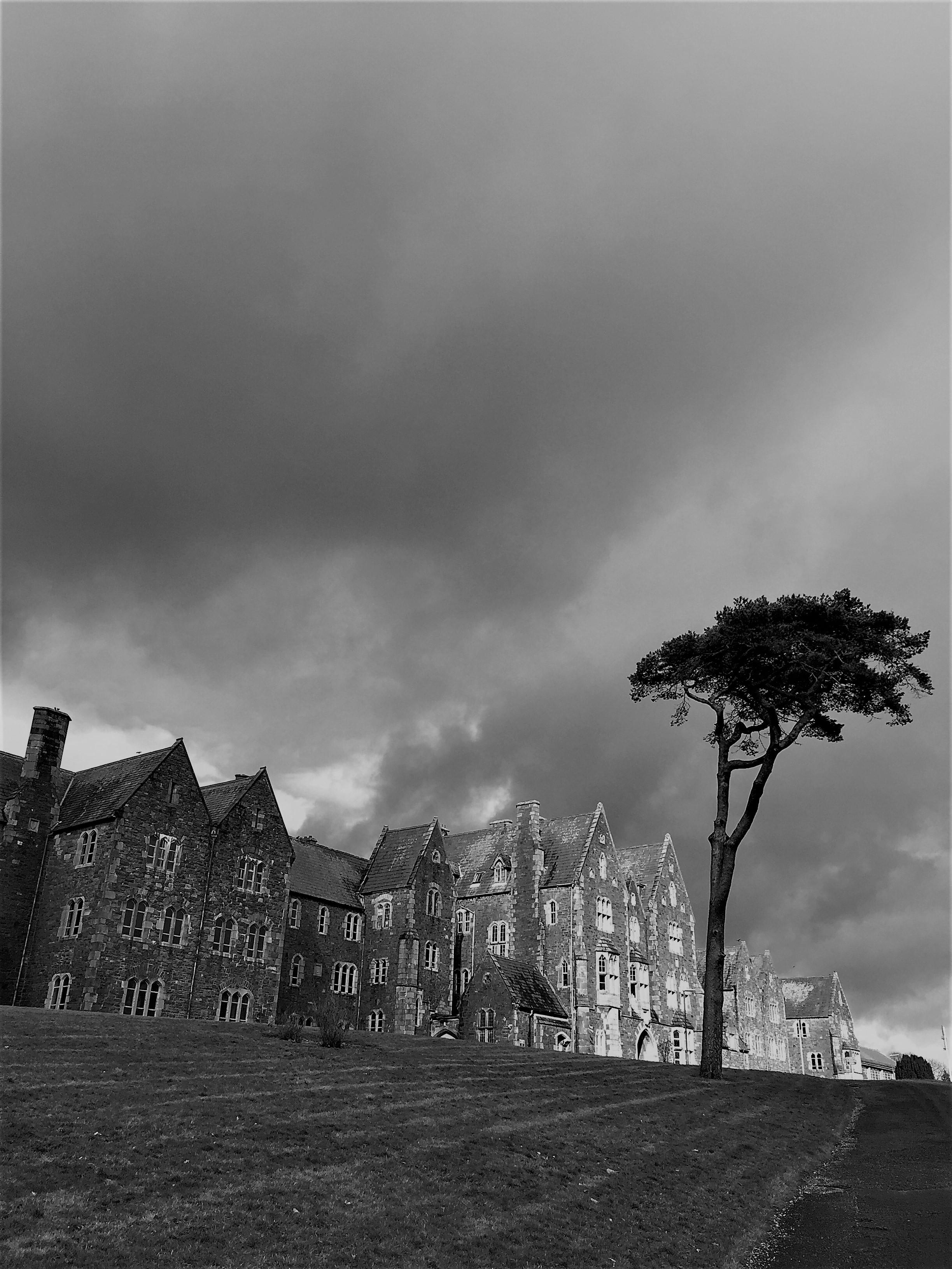 1-St Finan's Hospital  on the hilltop overlooking Killarney town