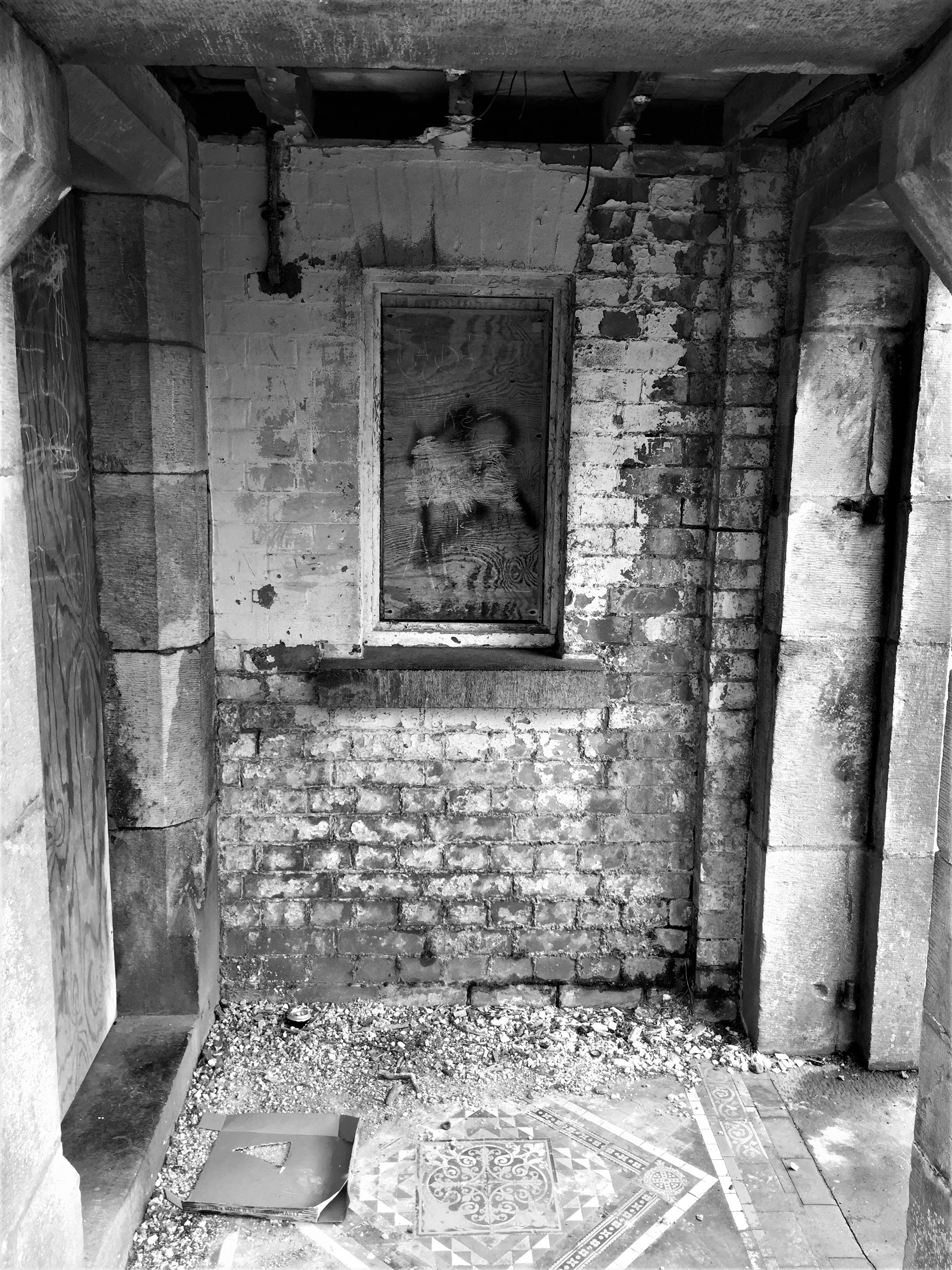 1-West Facing Gate Lodge Doorway of St Finan's Hospital Killarney