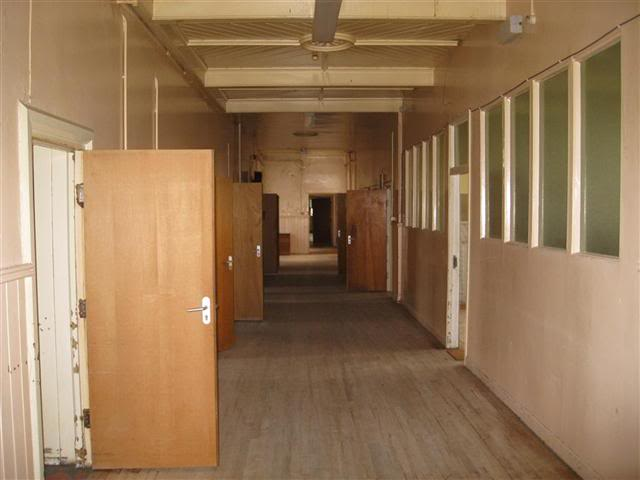 Corridor in St Finan's Hospital